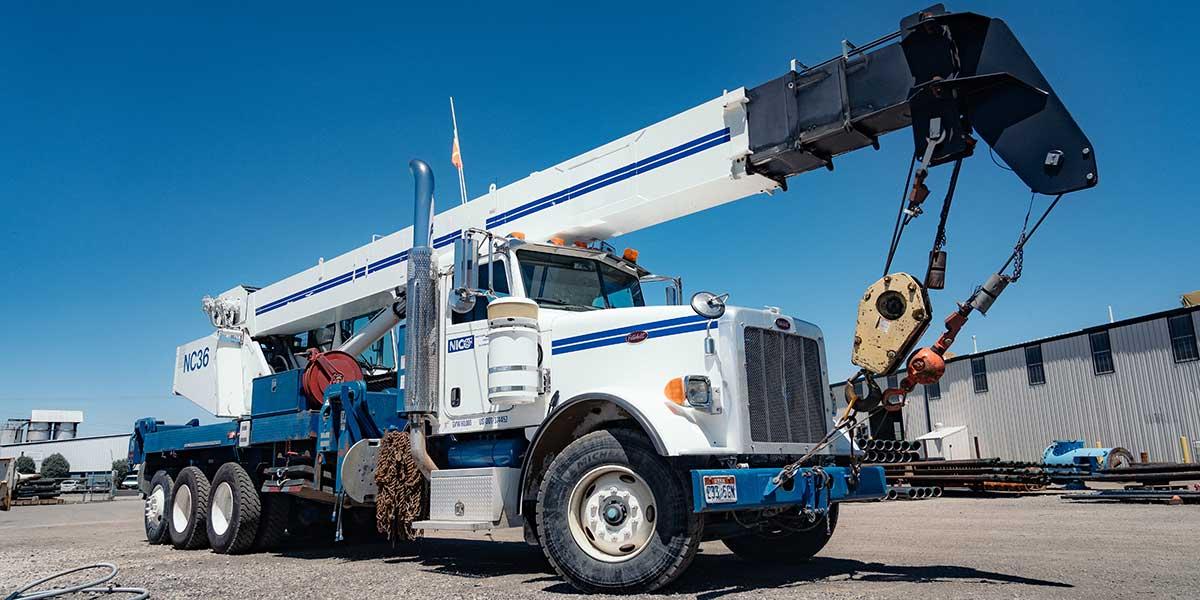 pump field service crane