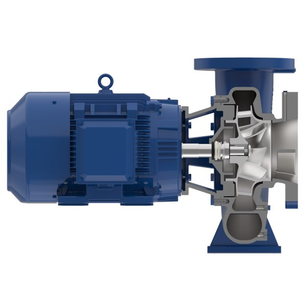 Aurora pump 3801 end suction pump cutaway