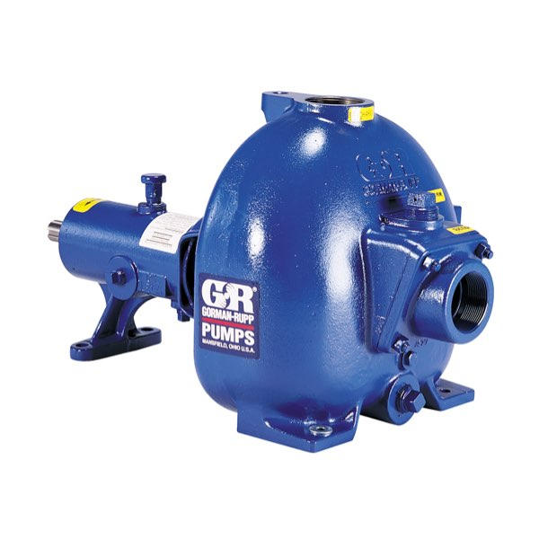 Gorman-Rupp 80 Series® medium head, mild solids-handling, self-priming centrifugal pumps are designed for non-stop work loads.