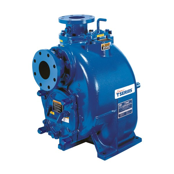 Designed for economical, trouble-free operation, the superior solids-handling capabilities of the Gorman-Rupp Super T Series pumps make them ideally suited for a variety of applications including solids-laden liquids and slurries.