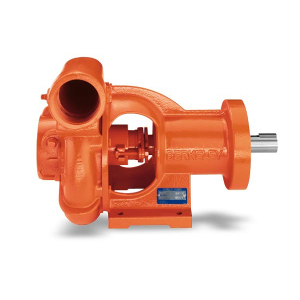 Berkeley Type B frame-mount centrifugal pumps are designed for the user who has a separate power source suitable for driving through couplings or with belts.